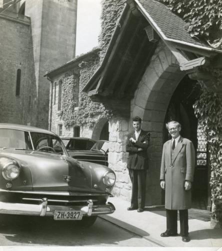 Pierre Decaux et Albert Roos.jpg