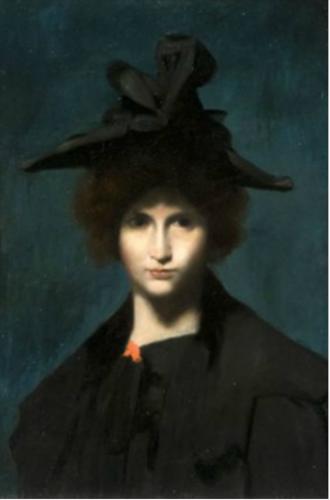 Femme au chapeau..png