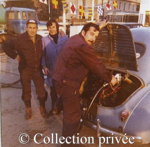 1970 - Justin Sacristan, un ouvrier de chez Fiat (garage Courtois) , Elie Fonguetti.jpg