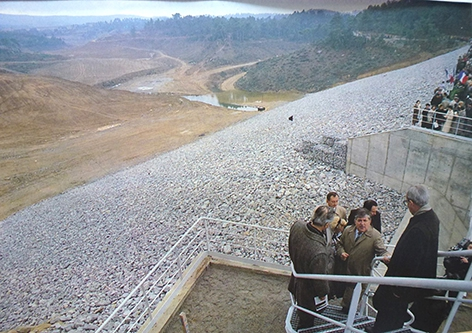 Inauguration Lac de la Cavayère. 1989.jpg
