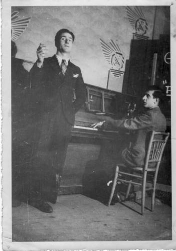 Georges princier café Artaud 1 juin 44.jpg