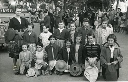 Juillet 1952. Colonie Bastide de Sérou. Photo Portes.jpg