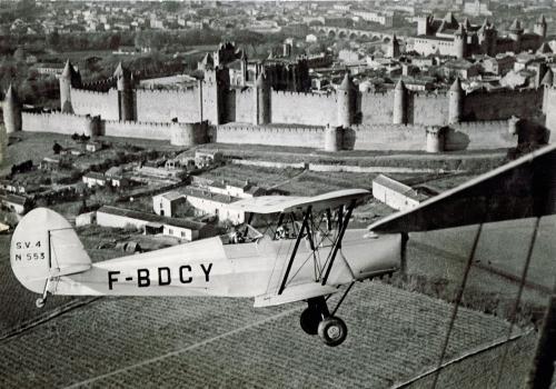 Stanp P 18 Piloté par le moniteur chef Mr Andrieu Année 1952.jpg
