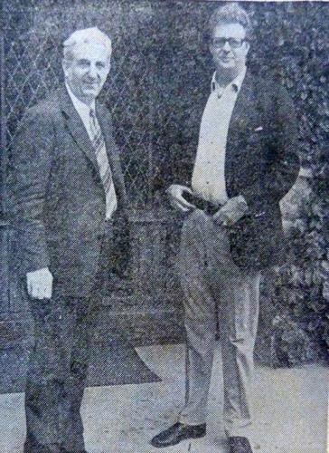 Leka 1er. Roi des Albanais. 14 octobre 1975.jpg