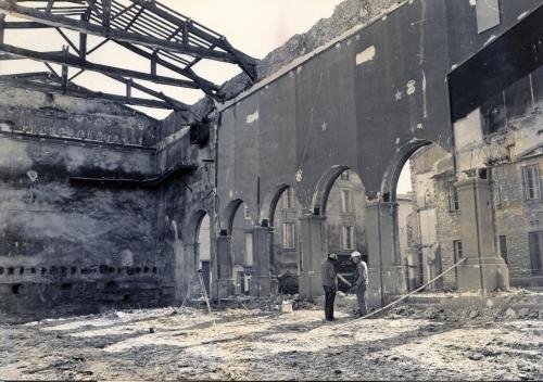 Démolition Ancien Cinéma Rex pour Construction Evéché en 1981.jpg
