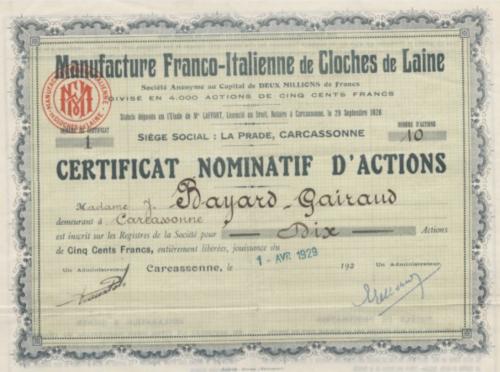manufacture franco